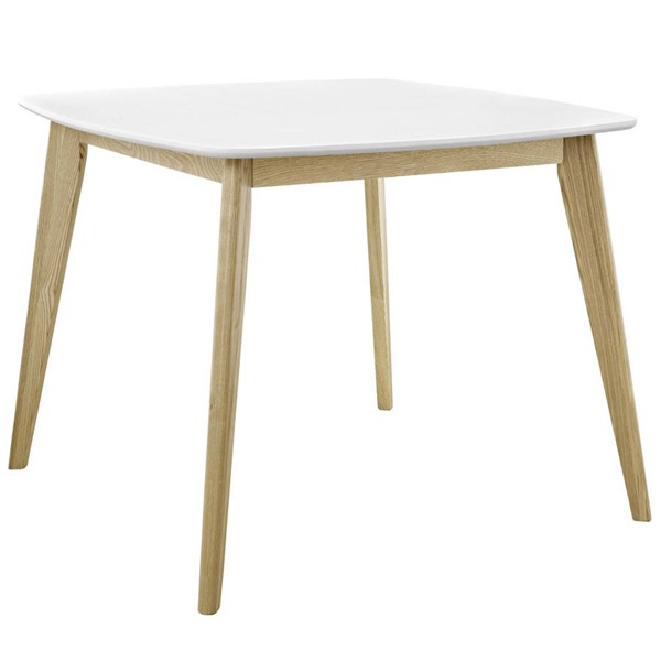 Modway Furniture Stratum White 40 Inch Dining Table EEI-2669-WHI