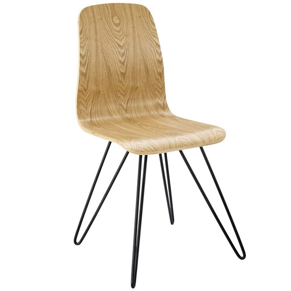 Modway Furniture Drift Natural Bentwood Dining Side Chair EEI-2671-NAT