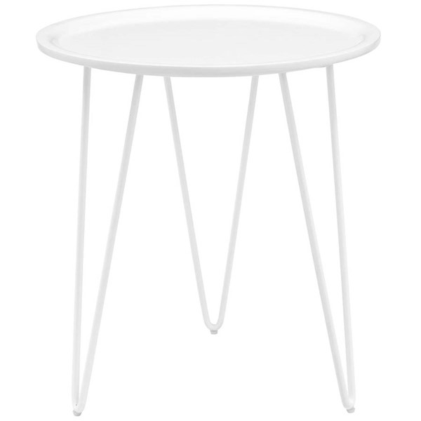 Modway Furniture Digress White Side Table EEI-2677-WHI