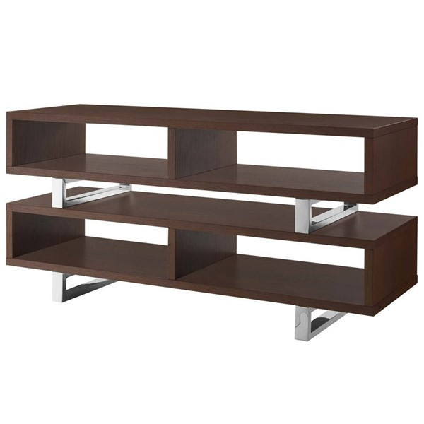 Modway Furniture Amble Walnut 47 Inch TV Stand EEI-2679-WAL