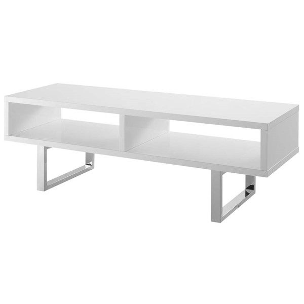 Modway Furniture Amble White 47 Inch Low Profile TV Stands EEI-2680-TS-VAR