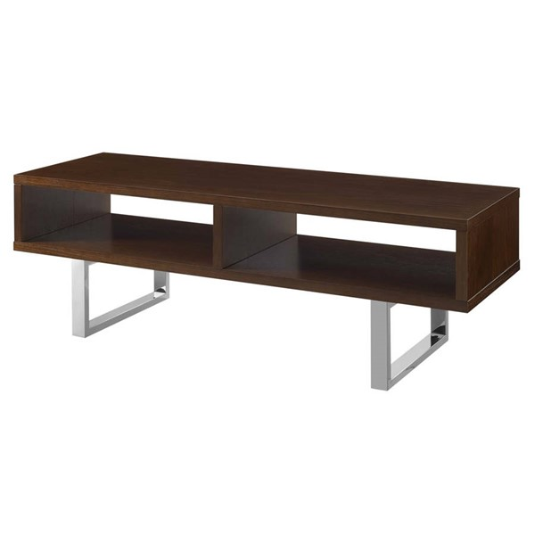 Modway Furniture Amble Walnut 47 Inch Low Profile TV Stand EEI-2681-WAL