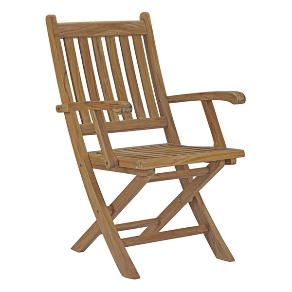 Modway Furniture Marina Natural Outdoor Patio Folding Chair EEI-2703-NAT