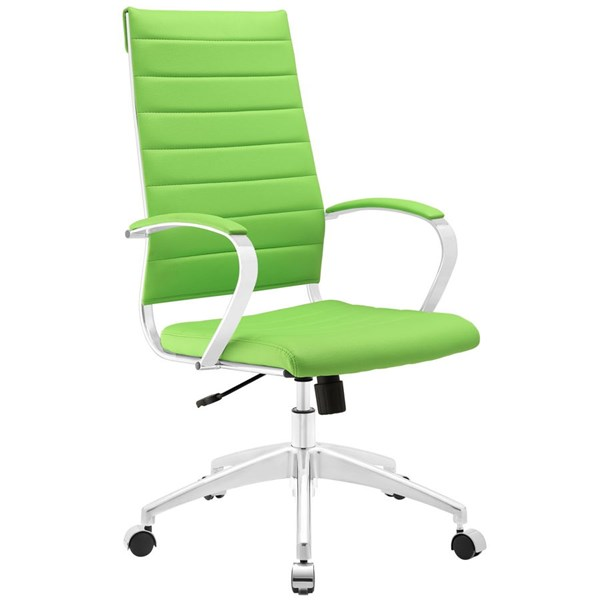 Modway Furniture Jive Bright Green Highback Office Chair EEI-272-BGR