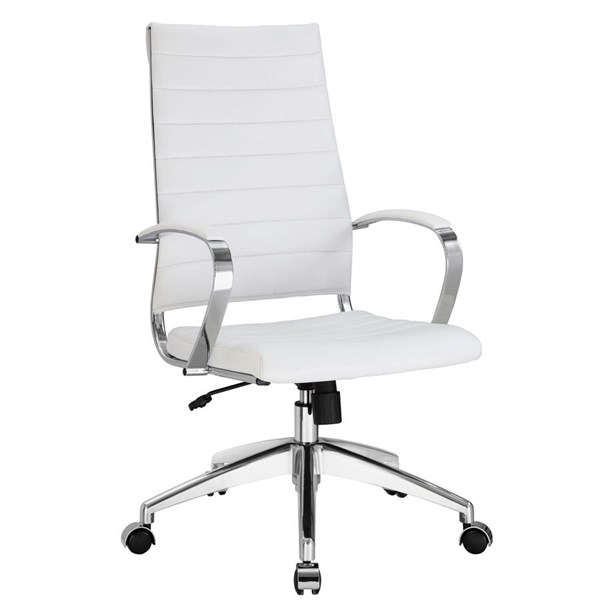 Modway Furniture Jive White Highback Office Chair EEI-272-WHI