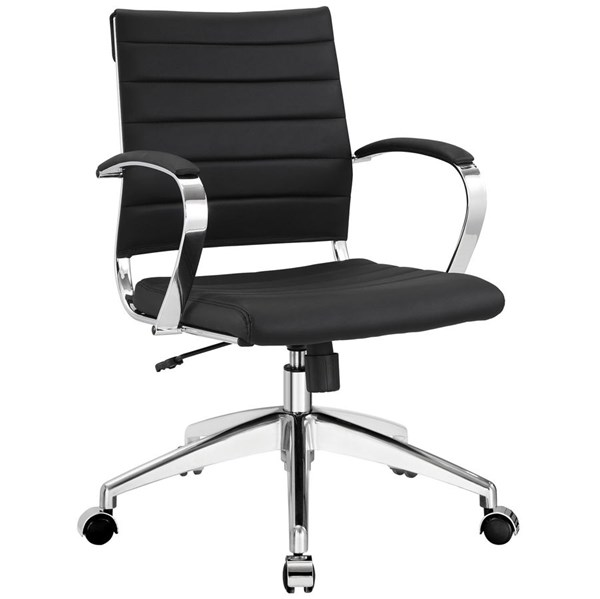 Modway Furniture Jive Black Mid Back Office Chair EEI-273-BLK