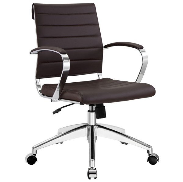 Modway Furniture Jive Brown Mid Back Office Chair EEI-273-BRN