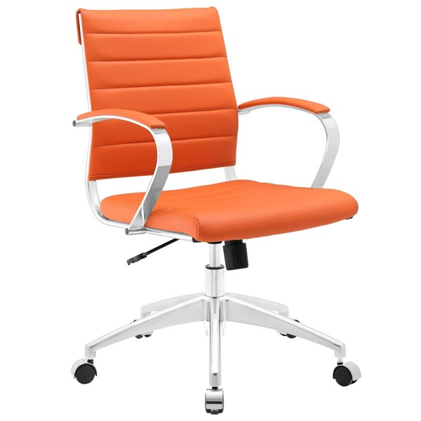 Modway Furniture Jive Orange Mid Back Office Chair EEI-273-ORA
