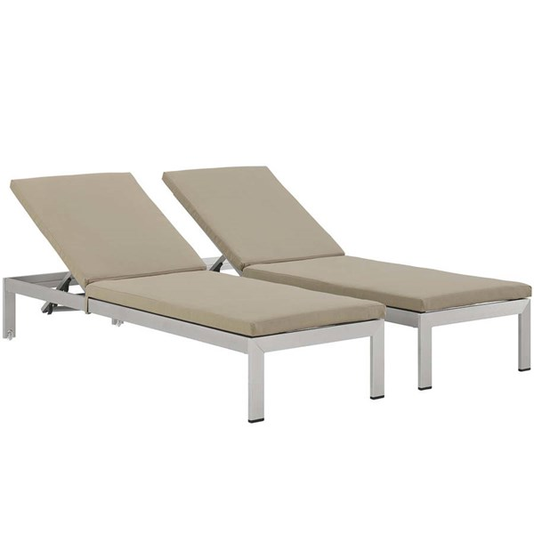 Modway Furniture Shore Cushions Outdoor Chaise with Cushion EEI-2737-SET-OCHS-VAR