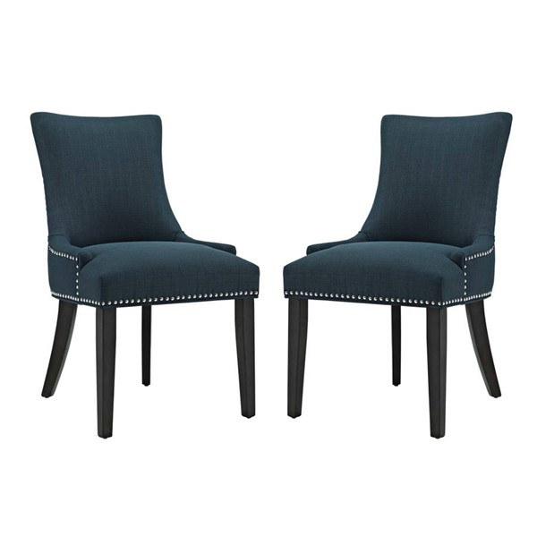 2 Modway Furniture Marquis Azure Dining Side Chairs EEI-2746-AZU-SET
