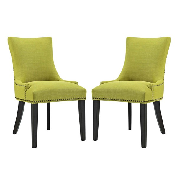2 Modway Furniture Marquis Wheatgrass Dining Side Chairs EEI-2746-WHE-SET