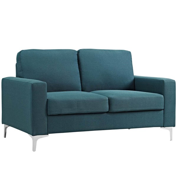 Modway Furniture Allure Blue Upholstered Sofa EEI-2777-BLU