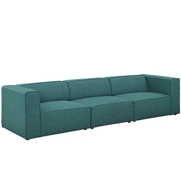 Modway Furniture Mingle Teal Upholstered Sofa EEI-2827-TEA