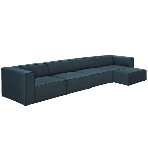 Modway Furniture Mingle Blue 5pc Sectionals EEI-2833-SEC-VAR