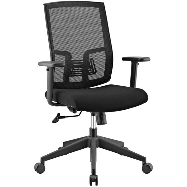 Modway Furniture Progress Black Mesh Office Chair EEI-2857-BLK
