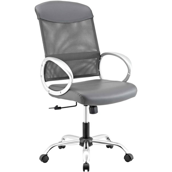 Modway Furniture Emblem Gray Office Chair EEI-2860-GRY
