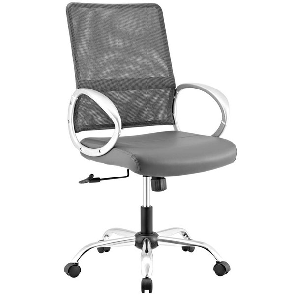 Modway Furniture Command Gray Office Chair EEI-2861-GRY