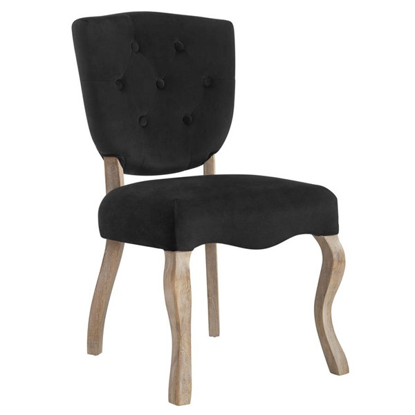 Modway Furniture Array Black Dining Side Chair EEI-2880-BLK