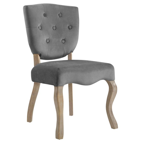 Modway Furniture Array Gray Dining Side Chair EEI-2880-GRY