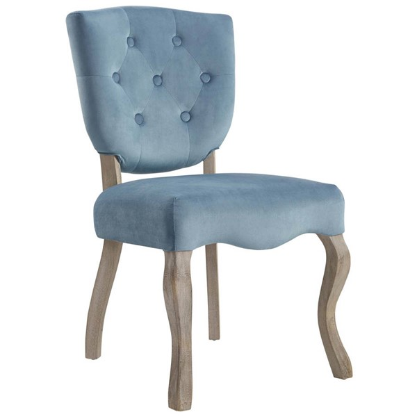 Modway Furniture Array Sea Blue Dining Side Chair EEI-2880-SEA