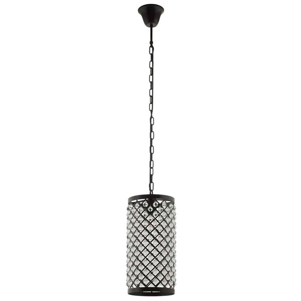 Modway Furniture Reflect Black Clear Pendant Chandelier EEI-2887