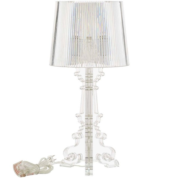 Modway Furniture French Clear Petite Acrylic Table Lamp EEI-2896-CLR