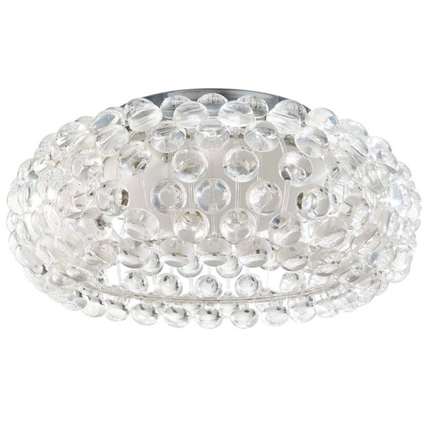 Modway Furniture Halo Clear 19 Inch Acrylic Ceiling Fixture EEI-2913