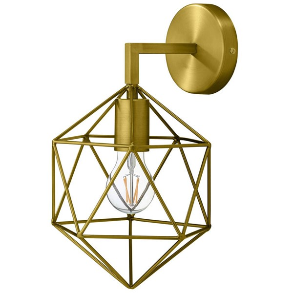 Modway Furniture Adept Gold Wall Sconce Light Fixture EEI-2914