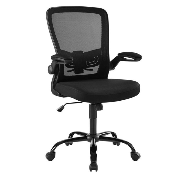 Modway Furniture Exceed Black Mesh Office Chair EEI-2992-BLK