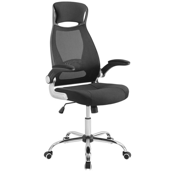 Modway Furniture Expedite Black Highback Office Chair EEI-3039-BLK