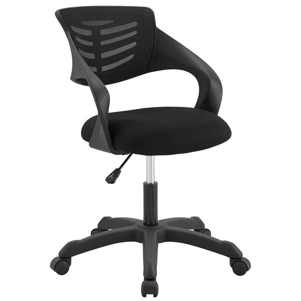 Modway Furniture Thrive Black Mesh Office Chair EEI-3041-BLK