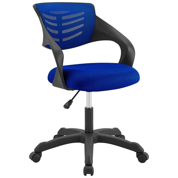 Modway Furniture Thrive Blue Mesh Office Chair EEI-3041-BLU