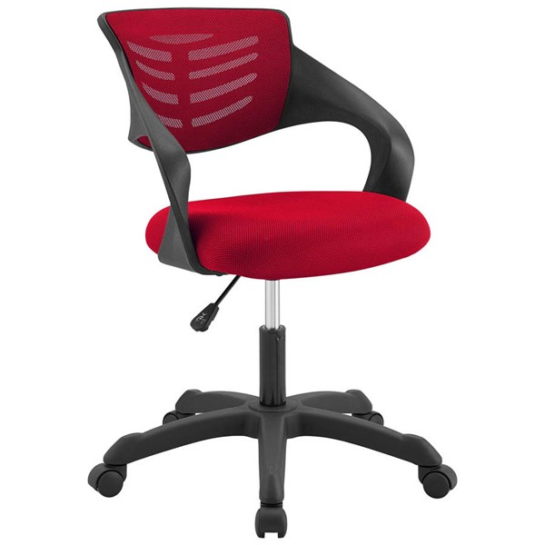 Modway Furniture Thrive Red Mesh Office Chair EEI-3041-RED