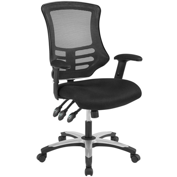 Modway Furniture Calibrate Black Mesh Office Chair EEI-3042-BLK