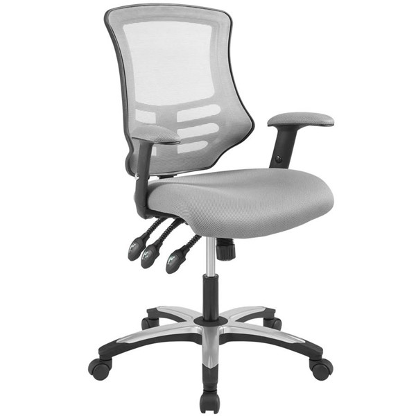 Modway Furniture Calibrate Gray Mesh Office Chairs EEI-3042-OCH-VAR