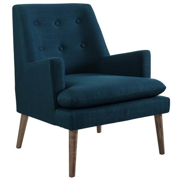 Modway Furniture Leisure Azure Upholstered Lounge Chair EEI-3048-AZU