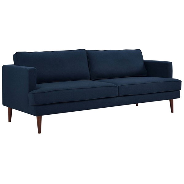 Modway Furniture Agile Blue Fabric Sofa EEI-3057-BLU