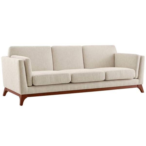 Modway Furniture Chance Beige Fabric Sofa EEI-3062-BEI