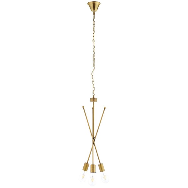 Modway Furniture Strive Brass Pendant Chandelier EEI-3078