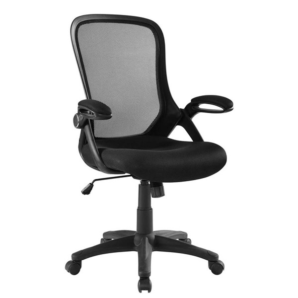 Modway Furniture Assert Black Mesh Office Chair EEI-3189-BLK