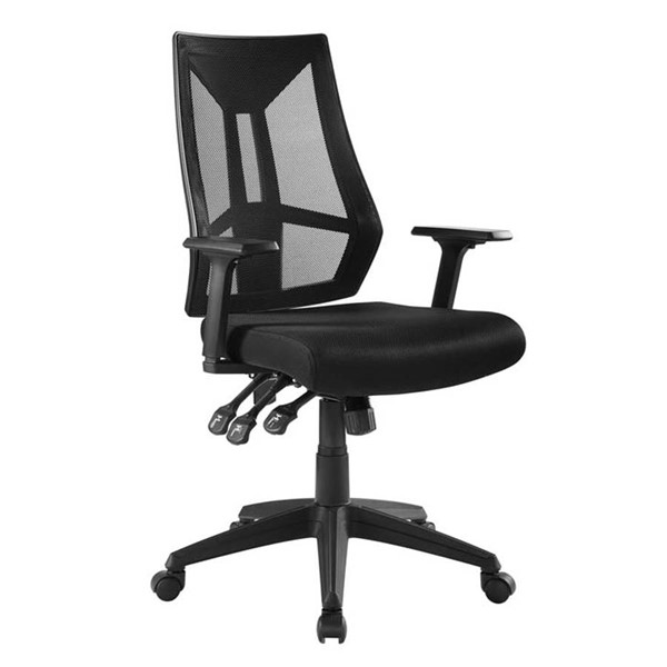 Modway Furniture Extol Black Mesh Office Chair EEI-3191-BLK