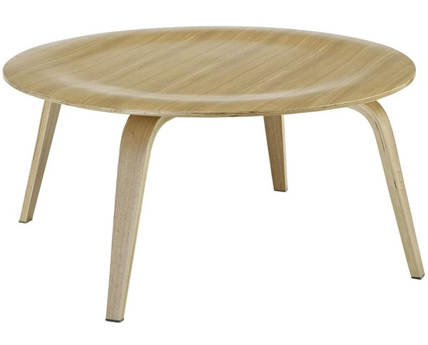 Modway Furniture Natural Plywood Coffee Table EEI-509-NAT