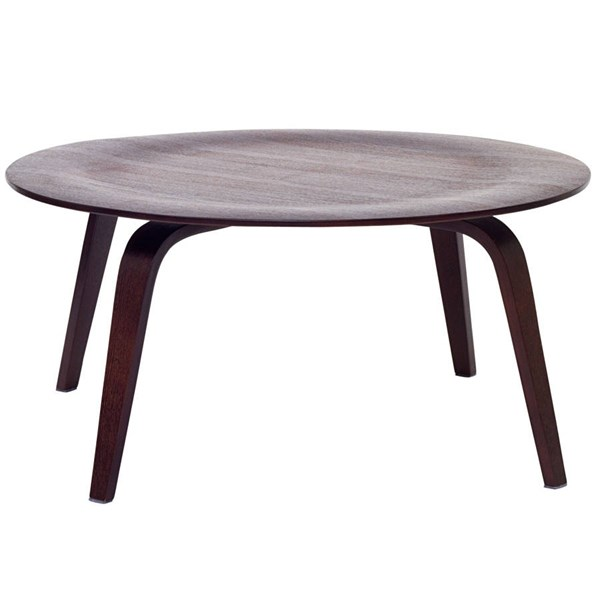Modway Furniture Wenge Plywood Coffee Table EEI-509-WEN
