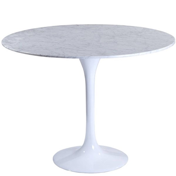 Modway Furniture Lippa 40 Inch Marble Dining Table EEI-512-WHI