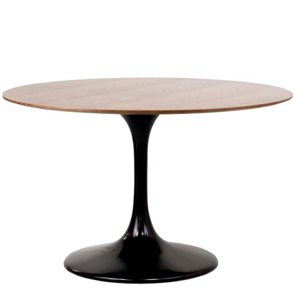 Modway Furniture Lippa Black 48 Inch Dining Table EEI-523-BLK