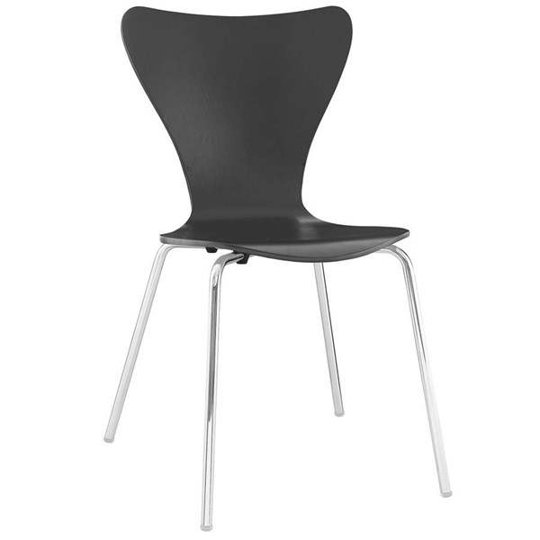 Modway Furniture Ernie Black Dining Side Chair EEI-537-BLK