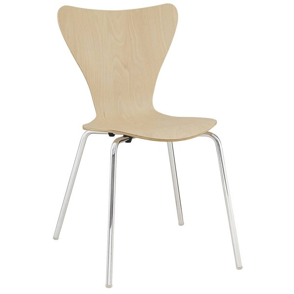Modway Furniture Ernie Natural Dining Side Chair EEI-537-NAT