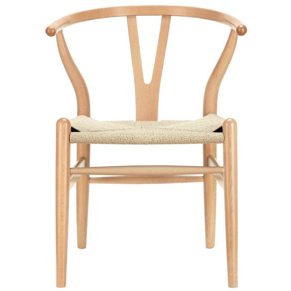 Amish Transitional Natural Solid Wood Dining Chair EEI-552-NAT