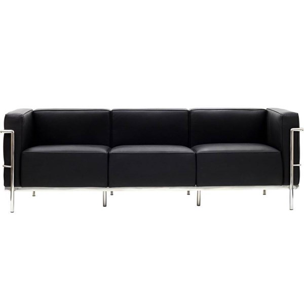Leather With Stainless Steel Frame LC3 Sofas EEI-567
