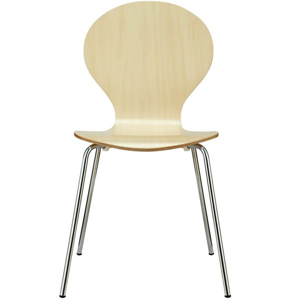 Plywood Seat With Aluminium Legs Insect Dinette Chair EEI-574 EEI-574